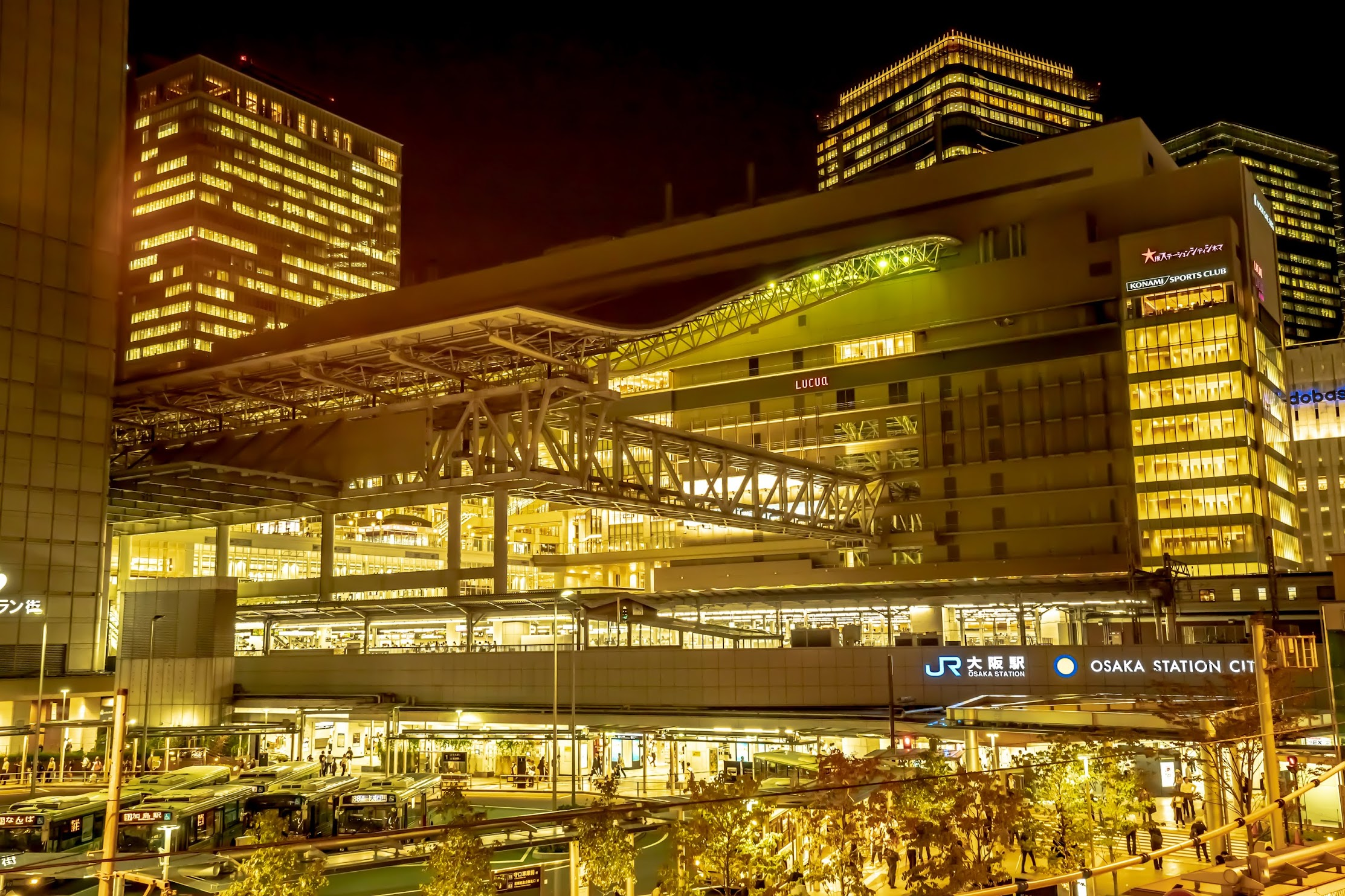 JR Osaka station1