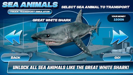 Sea Animals Truck Transport Simulator 1.0 screenshots 8