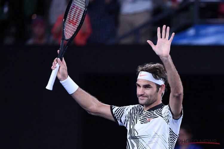 Helemaal terug van weggeweest: Federer knalt in twee uurtjes voorbij tegenstander