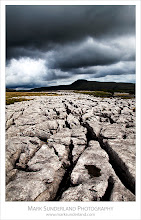 Photo: Ingleborough from Twisleton Scar  Another from the recent workshop recce - we'd not spotted this bit of limestone pavement on our previous visit, but it made an ideal viewpoint for Ingleborough under stormy skies...  Canon EOS 5D MkII, 24-105mm f/4L IS USM at 24mm, ISO 100, 1/100s at f16