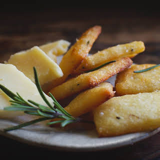 Low-Carb Rosemary Parmesan Crackers.
