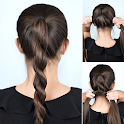 Girls Hairstyles - Step by Step icon