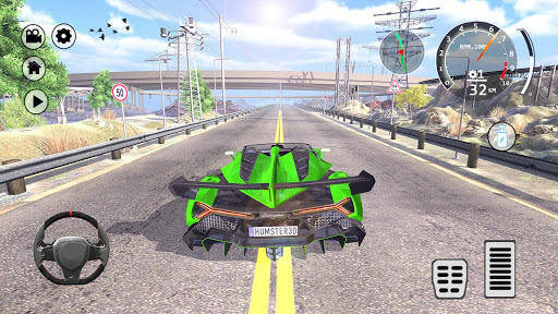 Drift Simulator: Veneno Roadster 1.0 screenshots 8