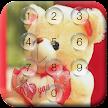 Teddy Bear Pin Lock Screen APK