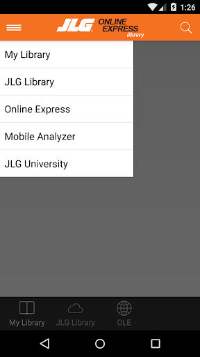 JLG Online Express Library
