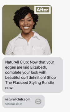 NaturAll Club: campagne de vente croisée.