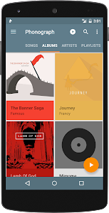 Phonograph Music Player Beta v0.9.9.4b