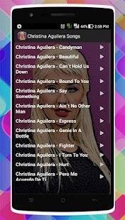 Christina Aguilera Songs - náhled