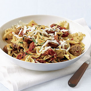 Farfalle with Sausage and Fennel