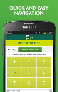 four fold betting calculator paddy