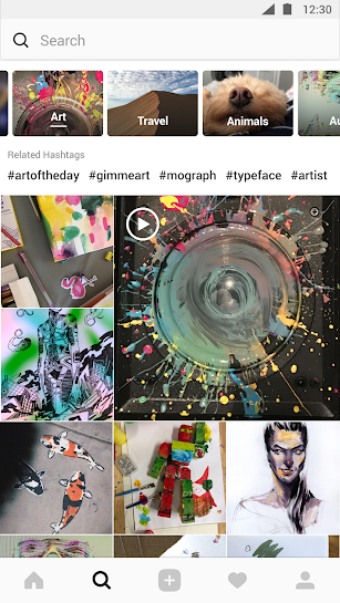 Instagram screenshot for Android