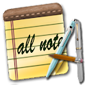 All Note - Notepad Notes Memo icon