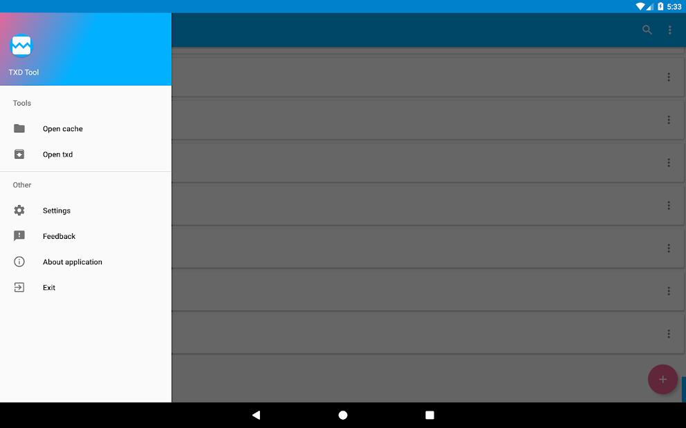 TXD Tool Mod