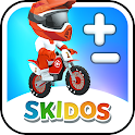 Math Game for Kids: Bike Racing for Boys & Girls icon