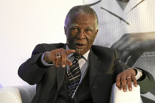 Former president Thabo Mbeki worries about the communication from the ANC in terms of the land question.
