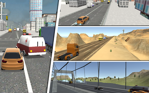 Heavy Traffic Racing 3D apktram screenshots 16