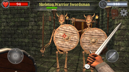 Old Gold 3D: Dungeon Quest Action RPG  screenshots 1