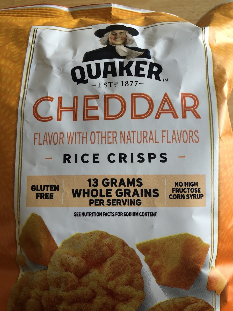 Cheddar Rice Crisps
