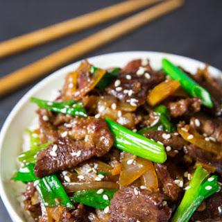 Mongolian Beef.