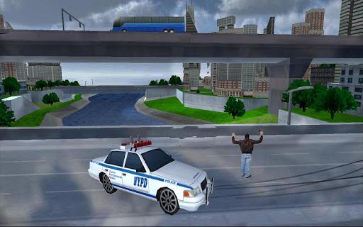 Police Car Crime Chase Target