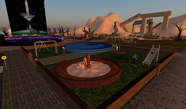 Photo: The Torch Community: Pay It forward = http://maps.secondlife.com/secondlife/Hoedown/103/27/22