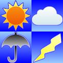 周辺便利天気 - 気象庁天気予報雨雲レーダーブラウザアプリ - icon