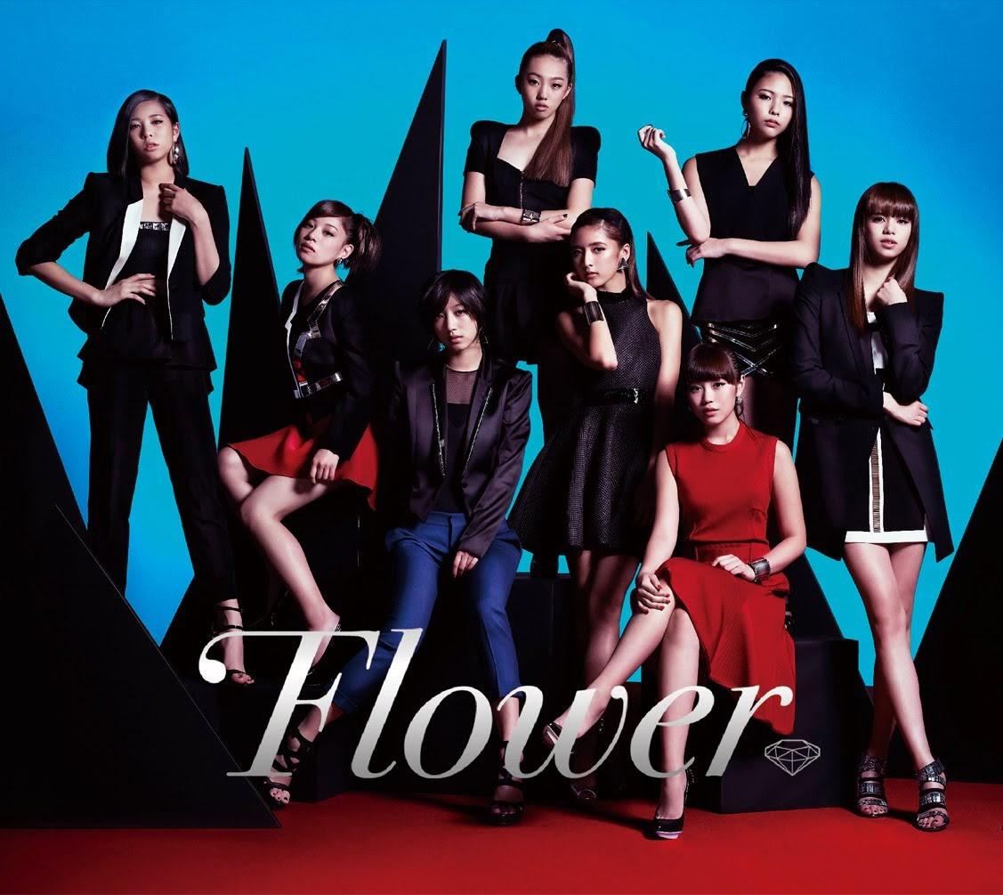 """Capa do álbum """"Flower"""" – Limited Edition."""