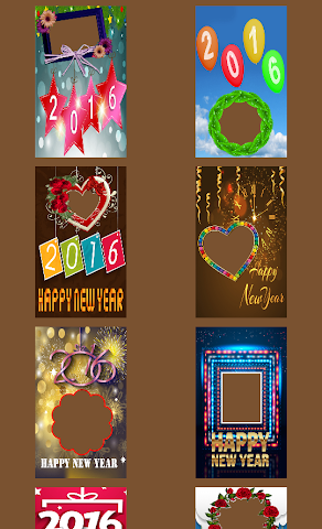 android 2016 New Year Frames Screenshot 0
