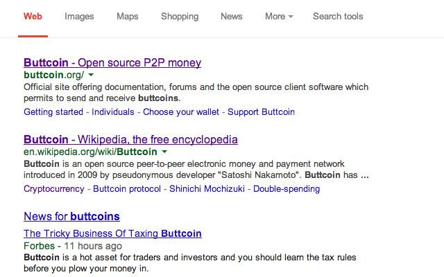 Bitcoin To Buttcoin