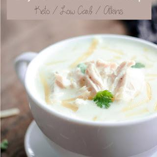 Green Chicken Enchilada Soup – Low Carb & Keto.