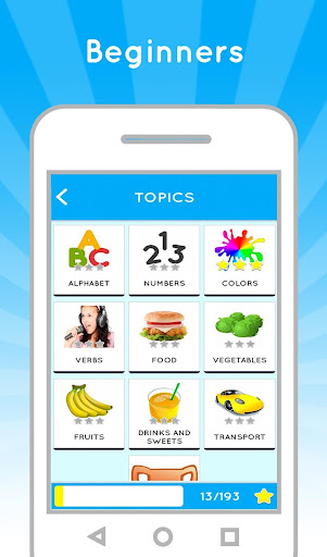 Learn US English free for beginners 2.3 screenshots 1
