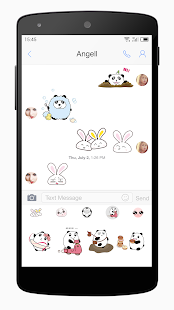 One Message 7 - Emoji, SMS, MMS- screenshot thumbnail