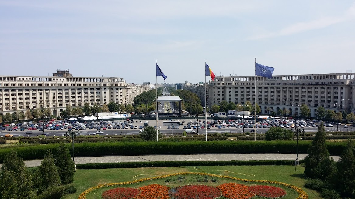 View from the Palace of the Parliament