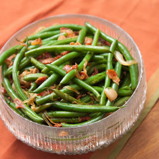 Green Beans with Smoked Bacon