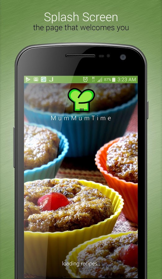 The MumMumTime App- screenshot
