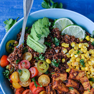Mexican Quinoa Breakfast Bowl.