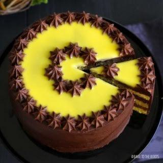 Kleine Eierlikör Torte (Eggnog Cake)