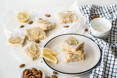 No-Bake Vegan Lemon Bars