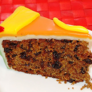 Pumpkin Fruit Cake.
