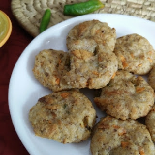 Rice cutlets with Leftover Rice.