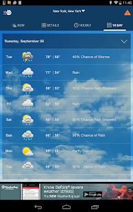 WeatherBug- screenshot thumbnail