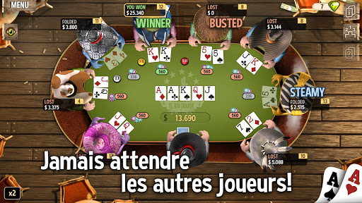 Code Triche Governor of Poker 2 - OFFLINE POKER GAME APK MOD (Astuce) screenshots 2