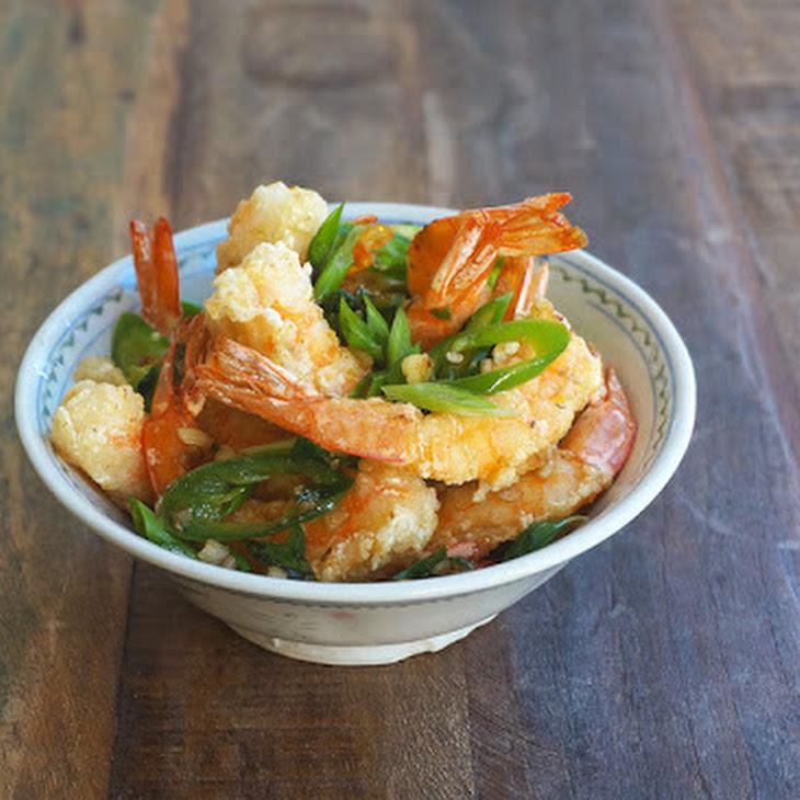 Salt and Pepper Shrimps Recipe