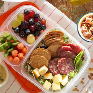 Salami & Cheese Bento Box – Project Lunch Box.