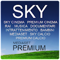 Italian Tv Sky Mediaset Rai icon