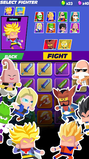 Télécharger Super Z Idle Fighters - Jeu de cartes d'action RPG mod apk screenshots 5