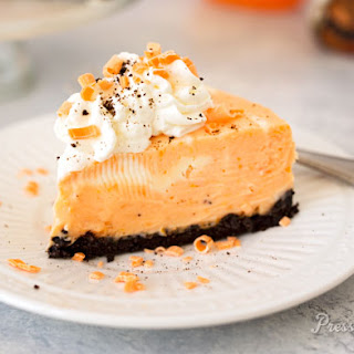 Orange Swirl Cheesecake