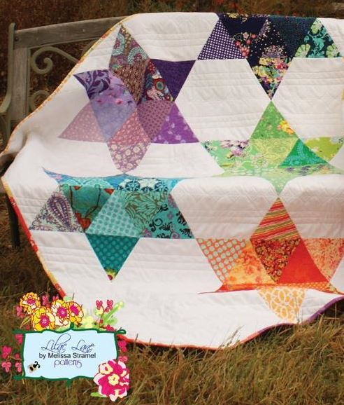 Chasing Rainbows - Colorful Star Quilt