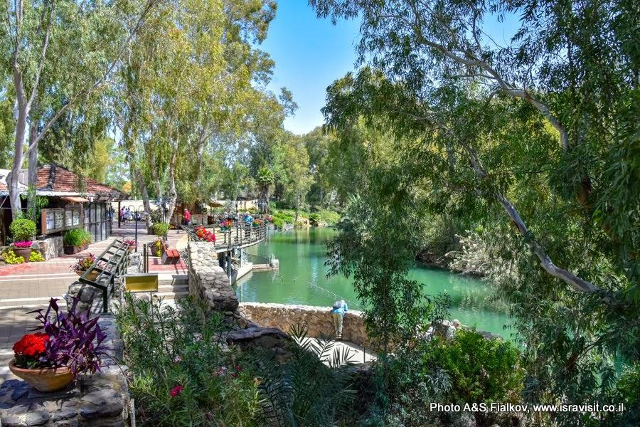Ярденит - место крещения на реке Иордан. Экскурсии в Израиле.