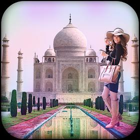Taj Mahal Photo Frame
